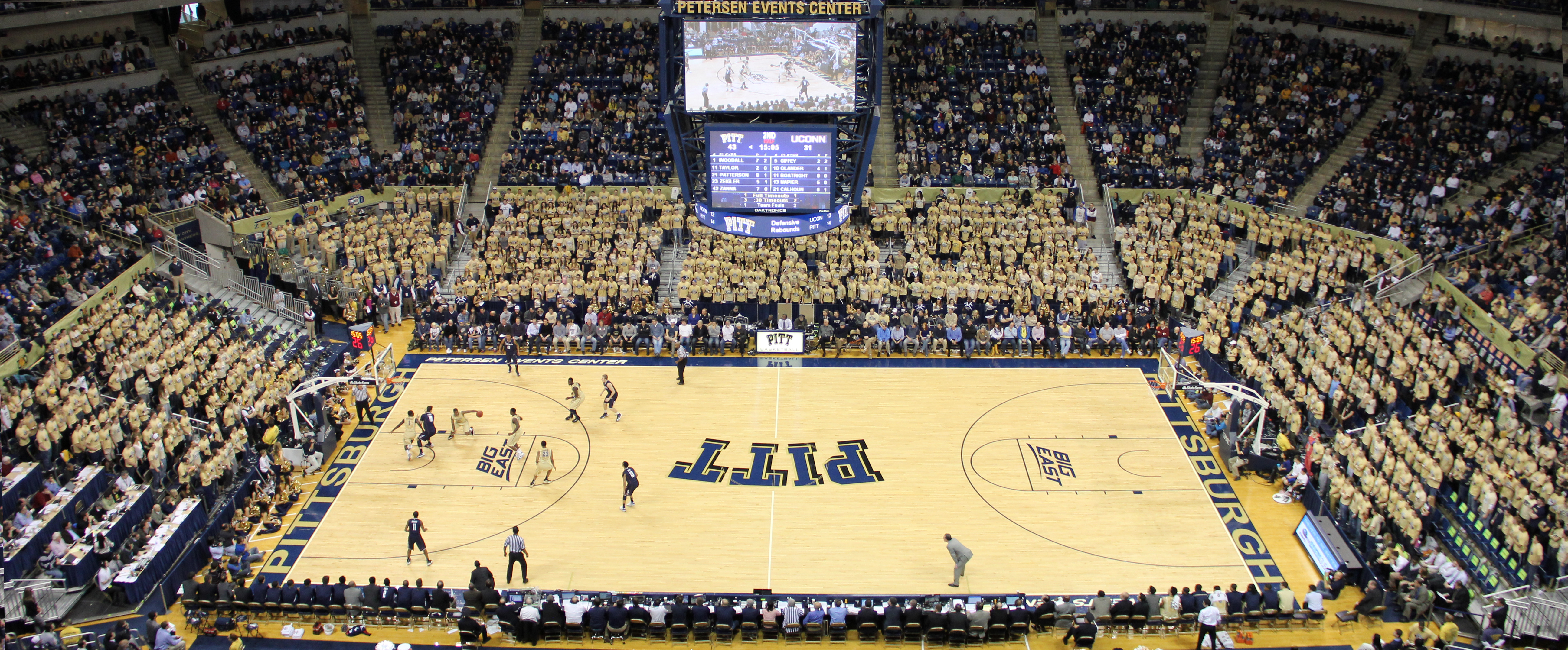 Gold Out on Saturday - Pitt Panthers #H2P