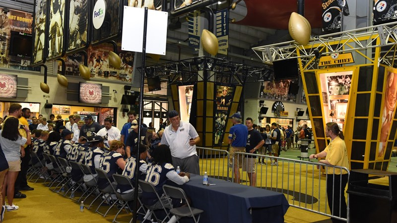 Wrestling to Hold Practice in FedEx Great Hall - University of Pittsburgh  Athletics 5e7241615