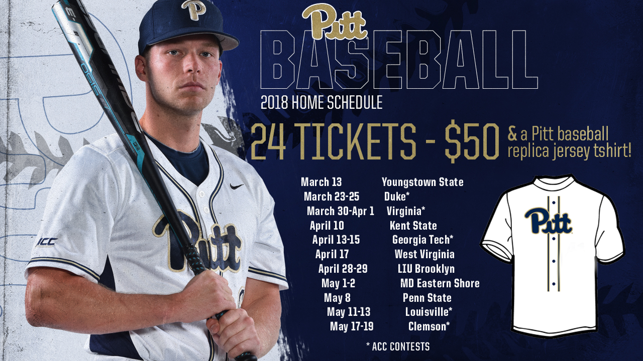 baseball flex ticket packages released - university of pittsburgh