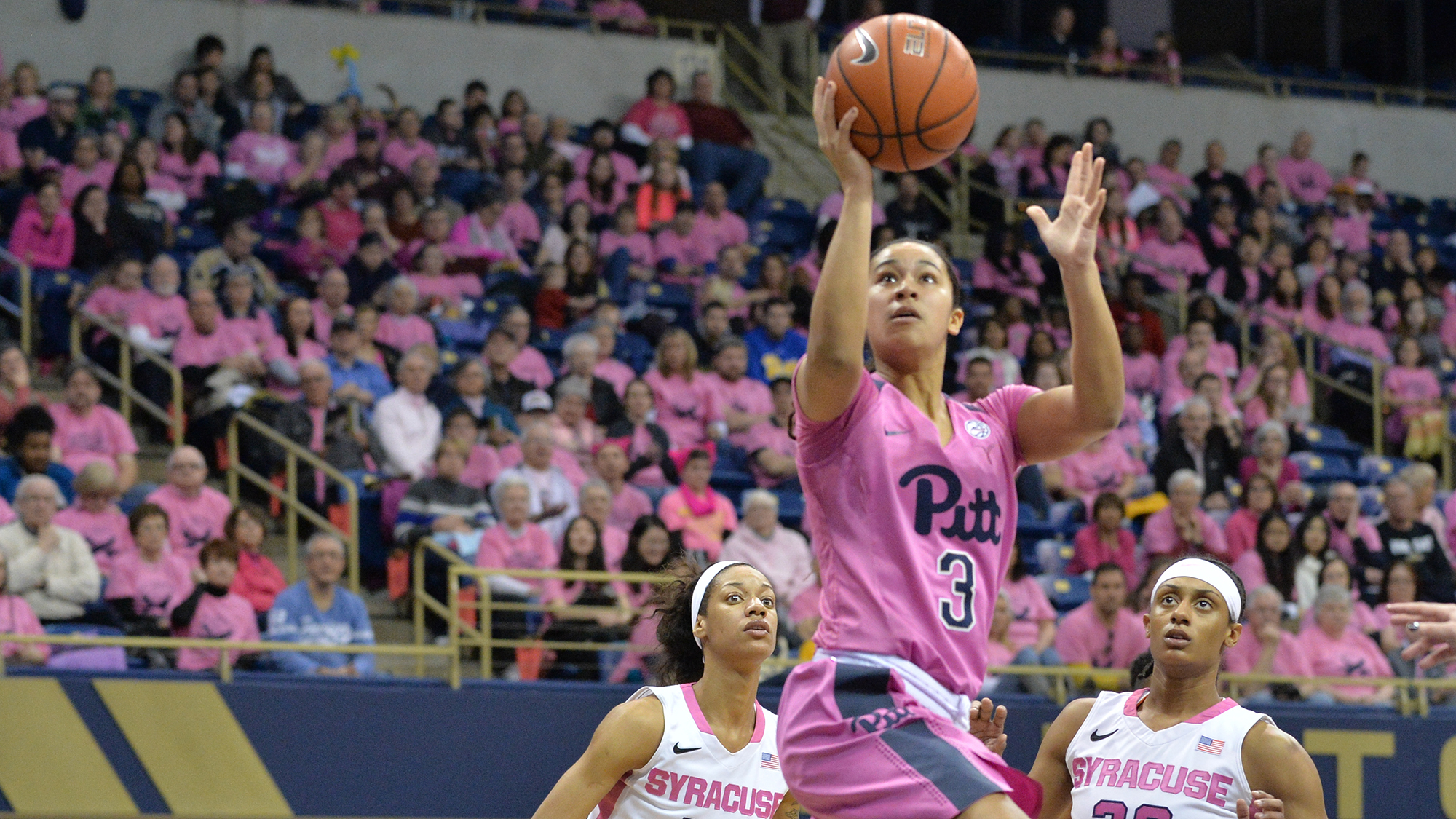 Panthers Prepared For 11th Annual Pink The Petersen Game