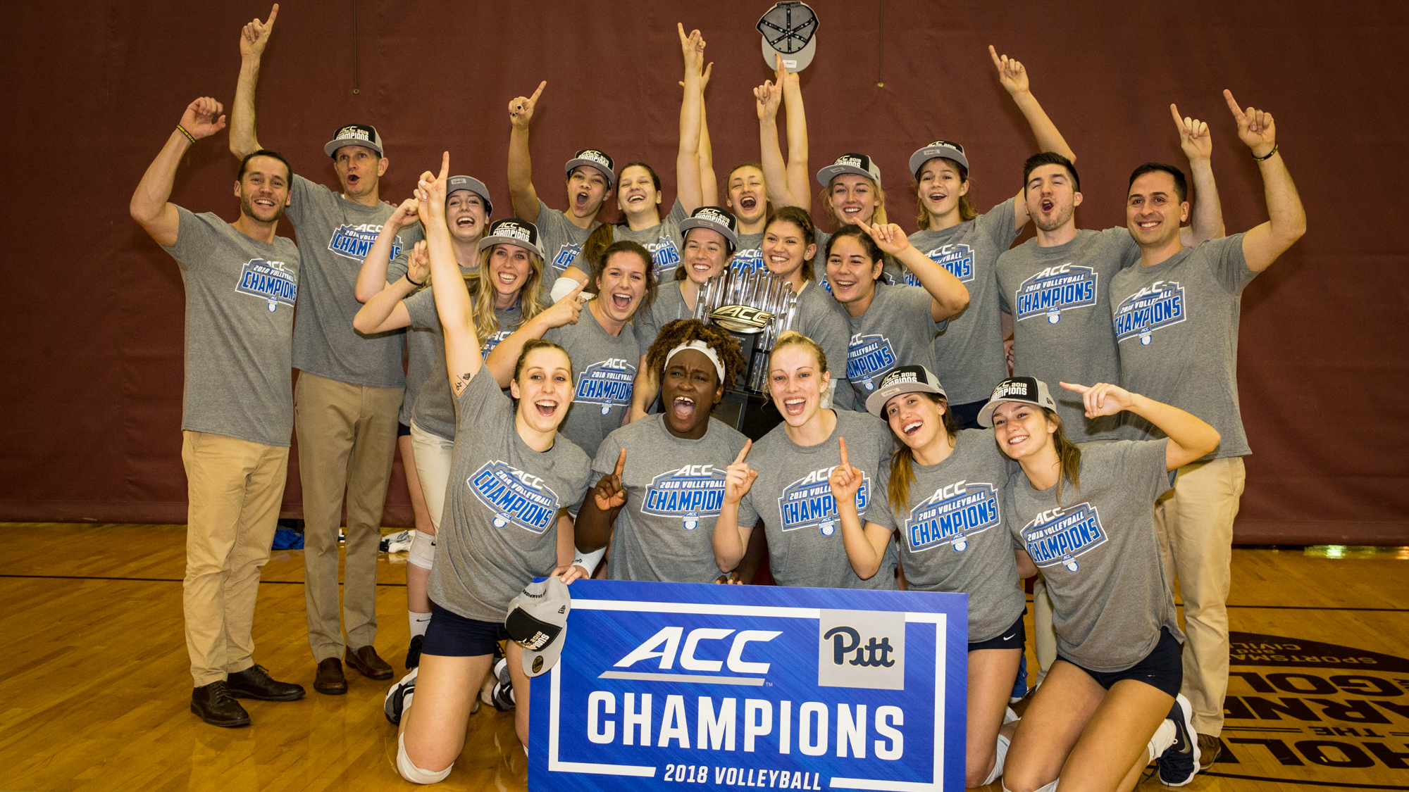67bb2cfb98b No. 10 Pitt Claims Outright ACC Volleyball Title - Pitt Panthers  H2P