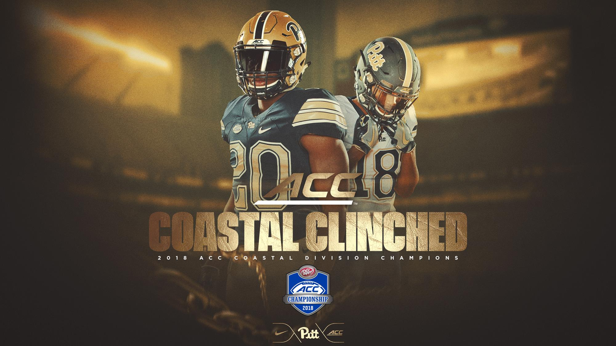 574e4963432 Coastal Clinched  Pitt Books Trip to ACC Title Game with Win at Wake Forest  - Pitt Panthers  H2P