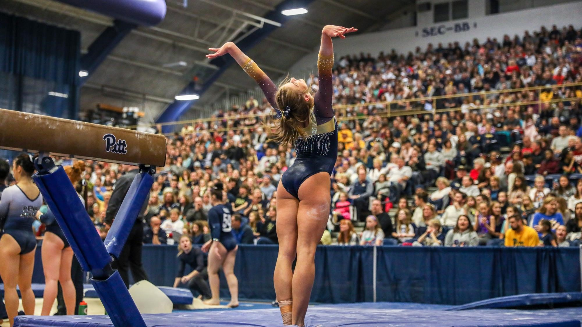 Gymnastics Shatters Attendance Records In 2018 University Of