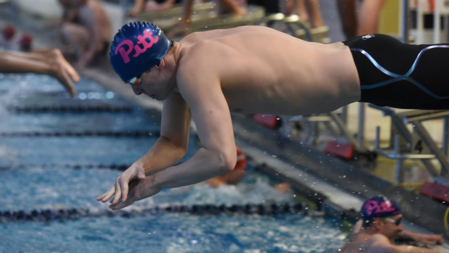 6170129918 Panthers Set Three School Records in Senior Meet - Pitt Panthers #H2P