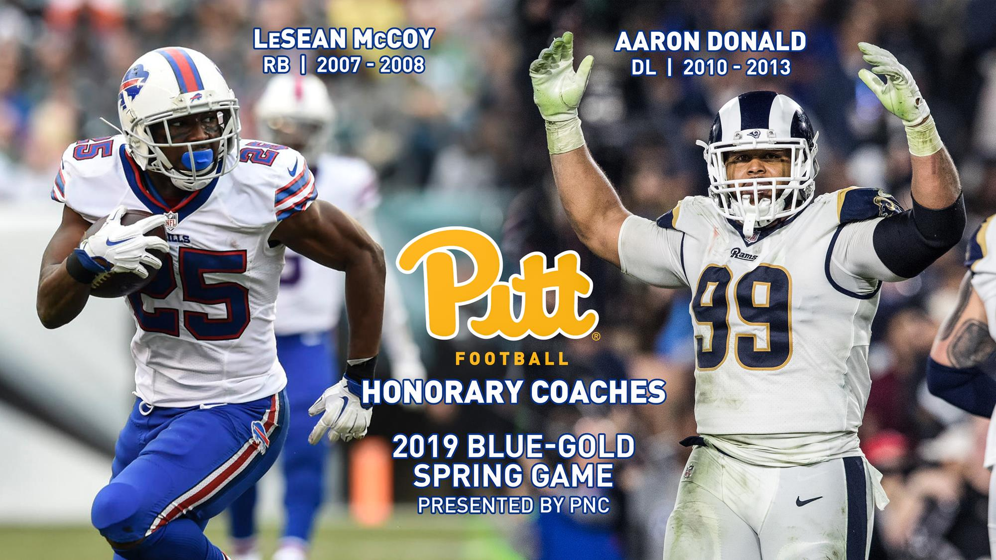 newest 06c43 823ce NFL Stars Aaron Donald and LeSean McCoy to Serve as Honorary ...