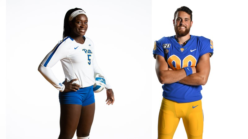 Ndee, Christodoulou Pick Up Pitt Student-Athletes of the Week Honors