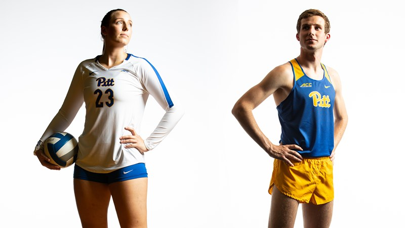 Lund, Wolk Named Pitt Student-Athletes of the Week