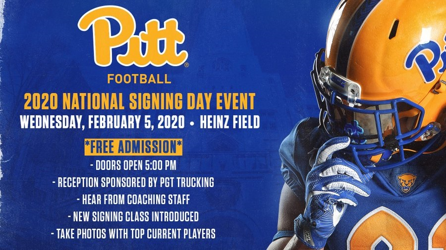 Pitt Football Signing Day Updates February 2020 Pitt Panthers H2p